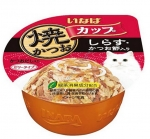 Ciao Tuna in Gravy Topping Whitebait and Sliced Bonito 80g Cat Wet Food (IMC101)